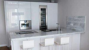 Encimera de cocina de Marmol Venato Carrara