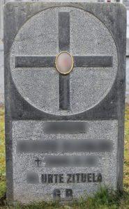 Lápida Modelo B