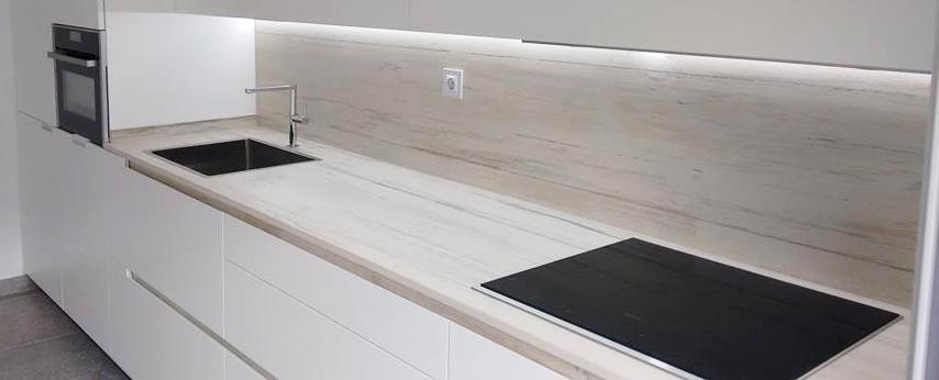 Encimeras de cocina y ba o m rmoles aztiria for Colores marmoles cocina