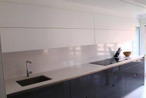 Encimera de cocina de Elegance New White pulido