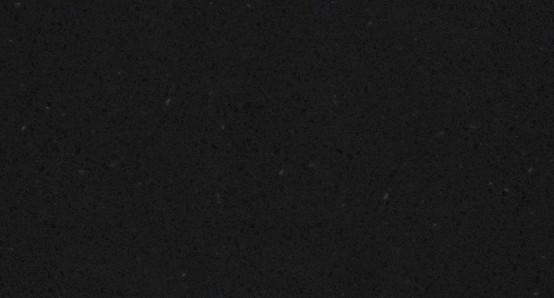 "Encimera SILESTONE de color ""Negro Anubis"""
