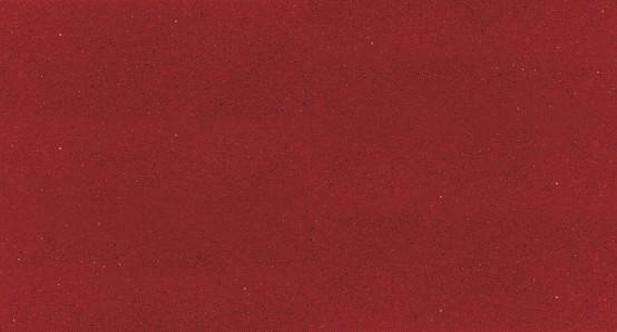 """Encimera SILESTONE de color """"Rojo Eros"""""""